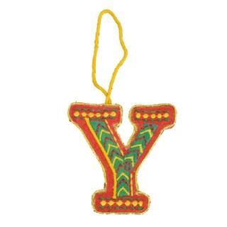 Felt Letter Ornaments