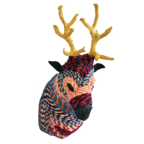 Handmade Chindi Animal Ornaments (India)