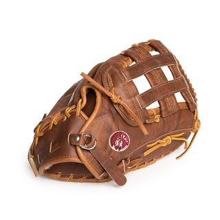 Nokona W-1250FBH/R Brown Leather 12.5-inch Walnut H Web Left-handed Baseball/ Softball Glove