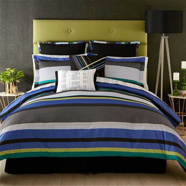 Christian Siriano Stripe Comforter/ Sham Set