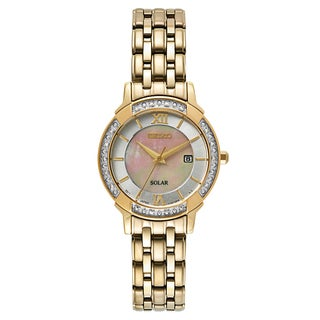 Seiko Women's Core SUT280 Yellow Goldplated Stainless-steel Watch
