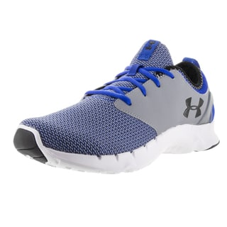 Under Armour Men's Flow RN S Try/Stl/Blk Running Shoe