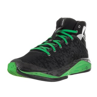 Under Armour Men's Fire Shot Blk/Gag/Msv Basketball Shoe