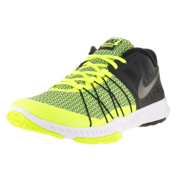 781f2d25aa35 Shop Nike Men s Zoom Train Incredibly Fast Black Black Volt White ...