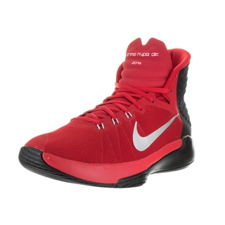 Nike Men's Prime Hype DF 2016 Unvrsty Rd/Rflct Slvr/Blk/Gym Basketball Shoe