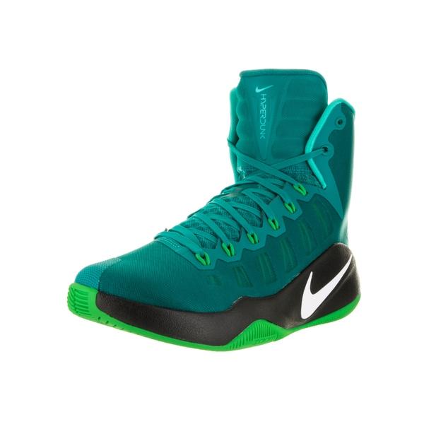 separation shoes dc84d 751f3 Nike Men  x27 s Hyperdunk 2016 Rio Teal White Green Spark Blk Basketball