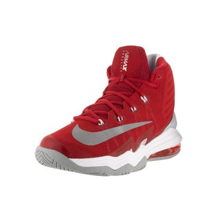 Nike Men's Air Max Audacity 2016 Unvrsty Rd/Rflct Slvr Pr Pltnm Basketball Shoe