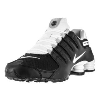 Nike Men's Shox NZ SE Black/White White Wolf Grey Running Shoe