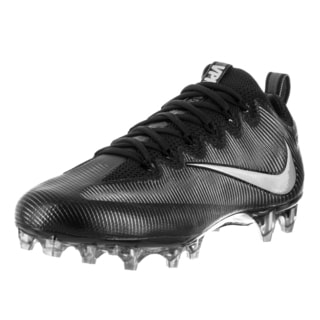 Nike Men's Vapor Untouchable Pro Black/Mtllc Slvr/Mtlc Drk Gry Football Cleat