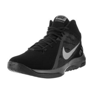 Nike Men's The Air Overplay IX NBK Black/Mtlc Dark Grey Anthrct Basketball Shoe