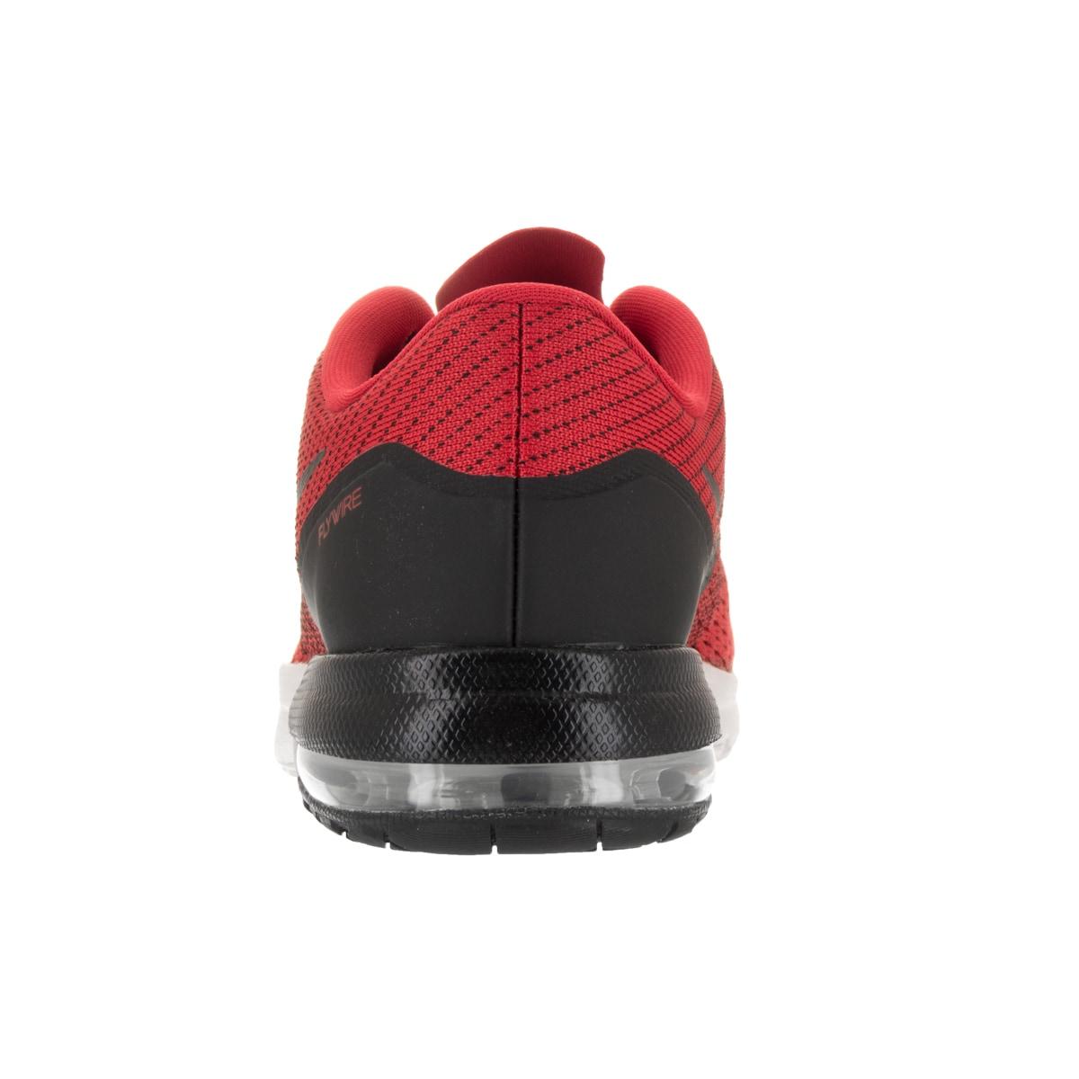Nike Air Max Typha Mens Cross Training Shoes Red Black