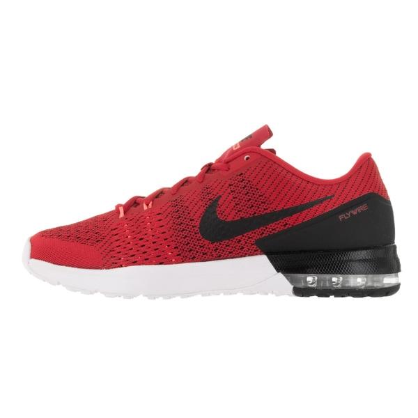 Shop Nike Men's Air Max Typha University RedBlackBright
