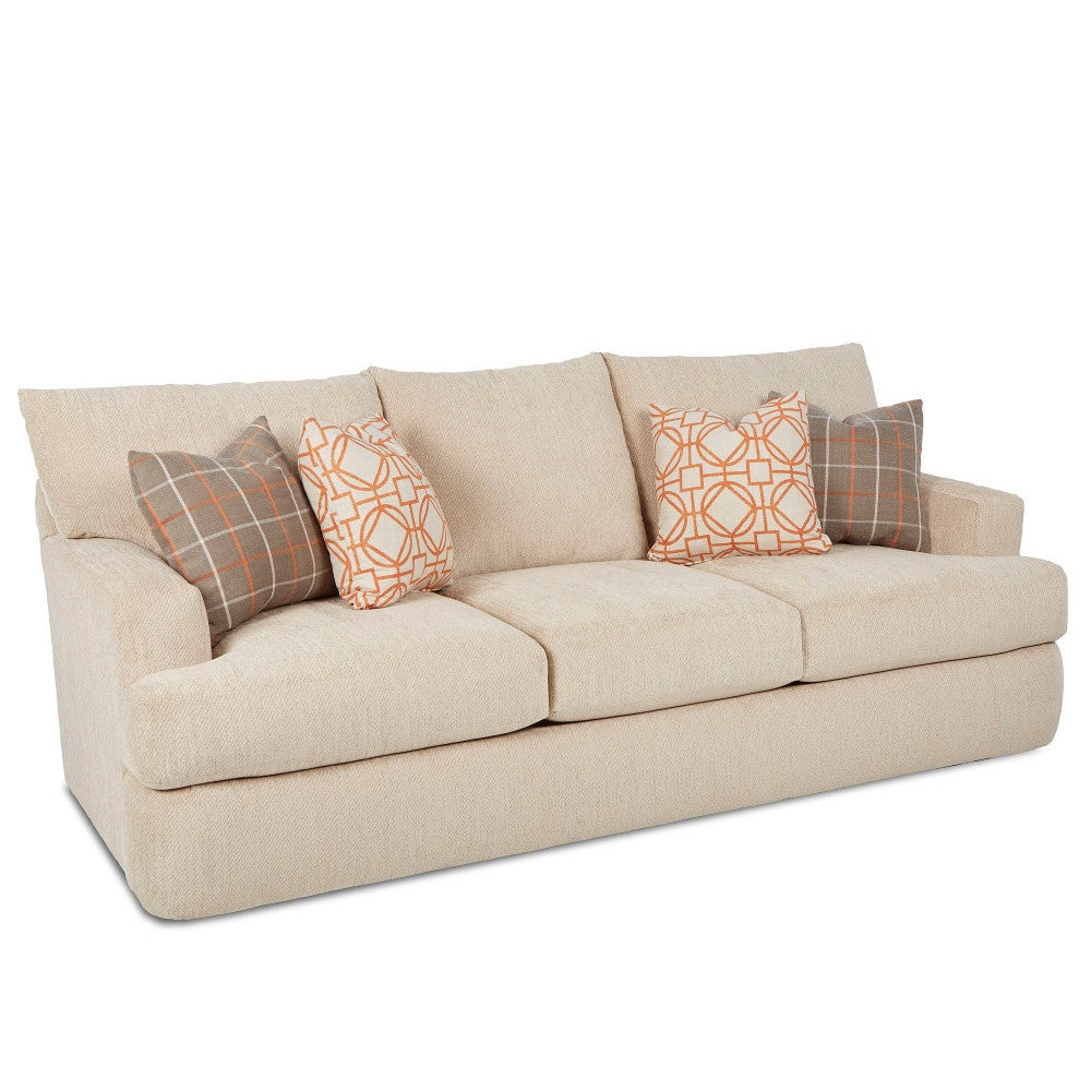 Klaussner Made to Order Oliver Sofa (Oliver Sofa - Oatmea...
