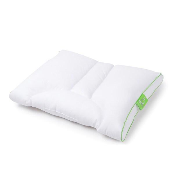 Sleep Yoga Dual Position Side Sleeper Pillow with Cover