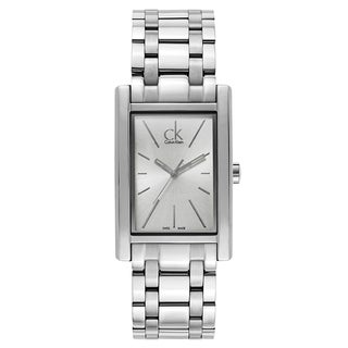 Calvin Klein Men's Silver-tone Stainless Steel Watch