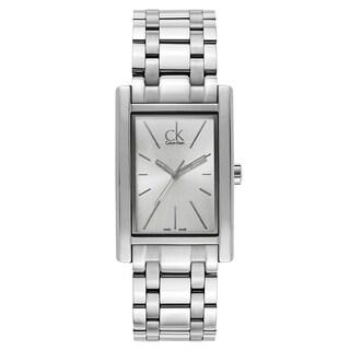 Calvin Klein Men's Silver-tone Stainless Steel Watch