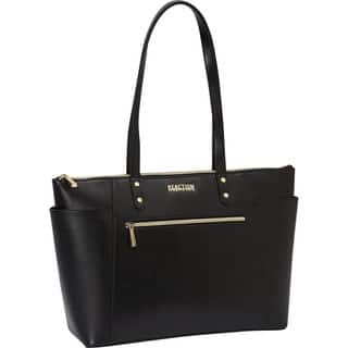 Kenneth Cole Reaction Saffiano Top Zip 15.6-inch Laptop Tote Bag|https://ak1.ostkcdn.com/images/products/13392332/P20089477.jpg?impolicy=medium
