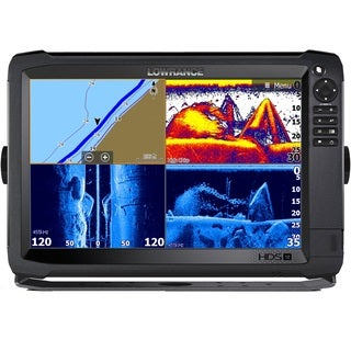 Lowrance Navico HDS-12 Carbon Insight With Total Scan Transducer