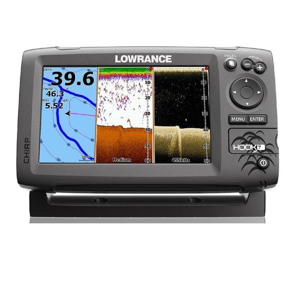 Lowrance Navico Hook 7 Grey GPS Sonar Unit