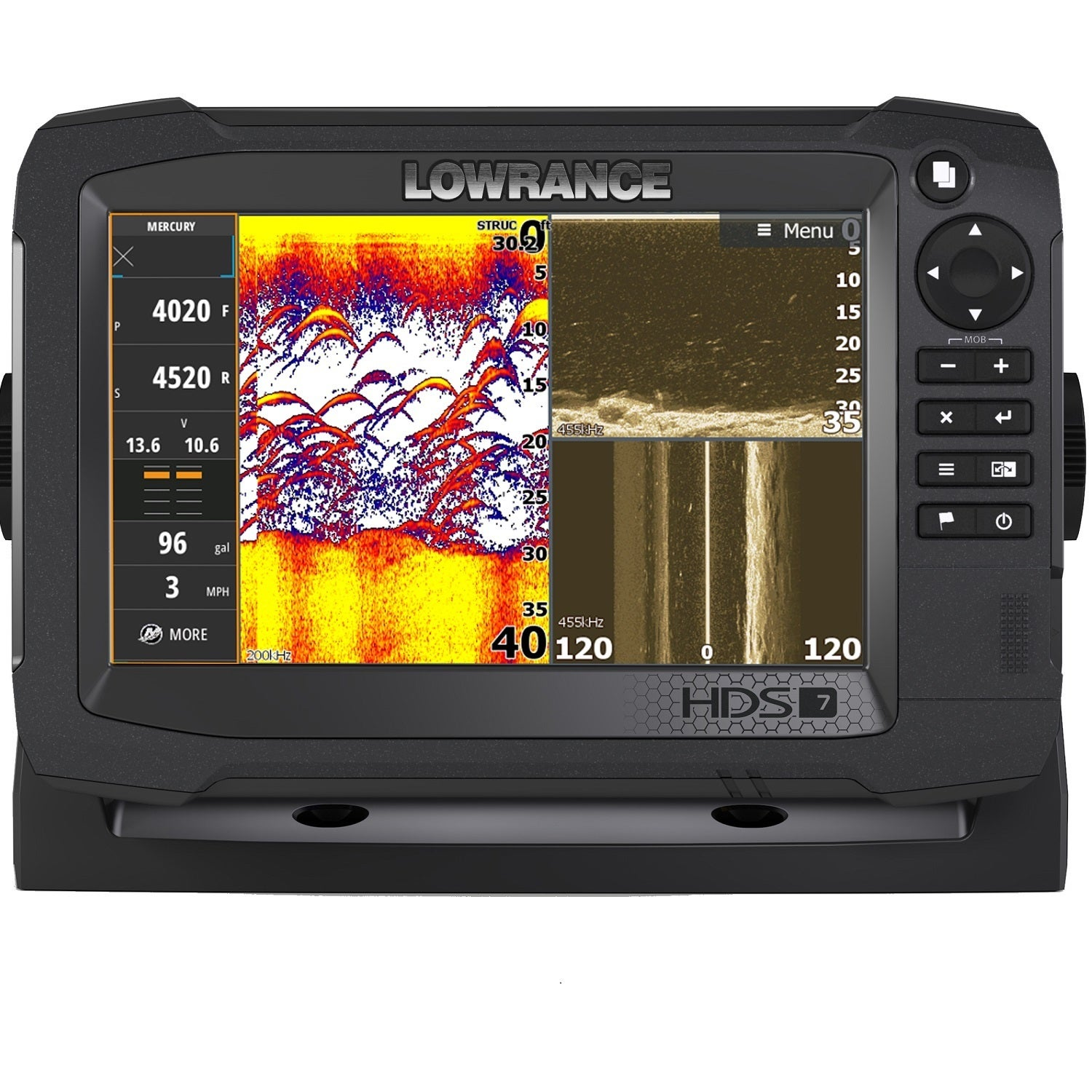 Navico Navico 7-inch Carbon Insight 3D Imaging Sonar with...