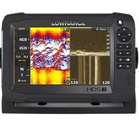 Navico 7-inch Carbon Insight 3D Imaging Sonar with Total Scan Transducer