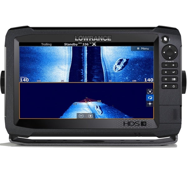 Lowrance Navico HDS-9 Carbon Insight with Total Scan Transducer Dual Sonar  System