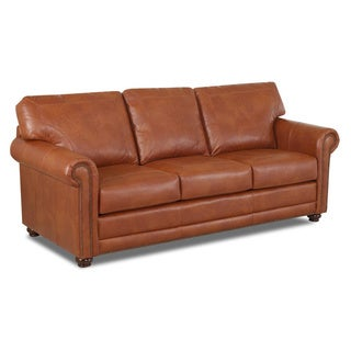 Made to Order Sherman Leather Sofa