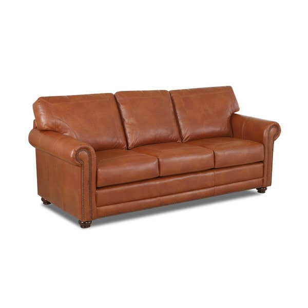Order Furniture Online Free Shipping: Shop Made To Order Sherman Leather Sofa
