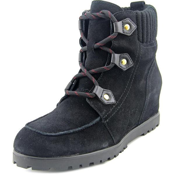 d8b9341d08e0 Shop Tommy Hilfiger Women s  Serafin  Regular Suede Boots - Free ...