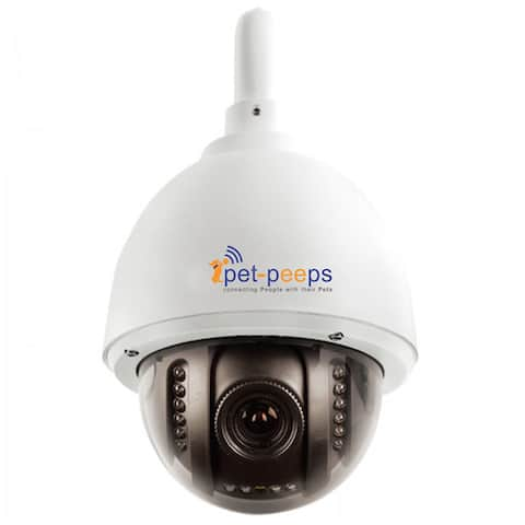 PetCam Wireless Outdoor Pet Video Camera & Monitor with Remote Control & Night Vision