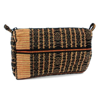Handcrafted Nagaland Design Toiletry Bag - Global Groove (Thailand)
