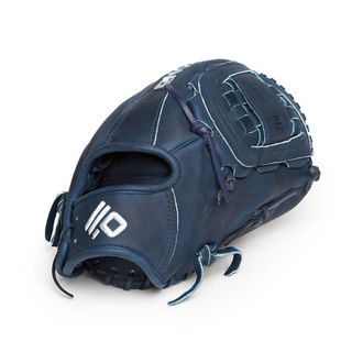 Nokona Colbalt XFT-1200/R Blue Leather 12-inch Closed-web Left-handed Thrower Baseball Softball Glove
