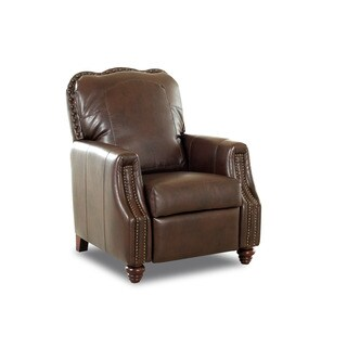 Made to Order Gabby Leather High Leg Reclining Chair