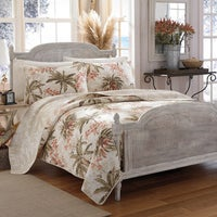 Shop tommy bahama map 3 piece quilt set on sale free shipping tommy bahama bonny cove cotton quilt set gumiabroncs Image collections