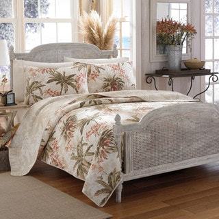 Link to Tommy Bahama Bonny Cove Cotton Quilt Set Similar Items in Decorative Accessories