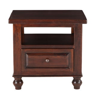 Chatham Downs Mango Brown Wood Side Table