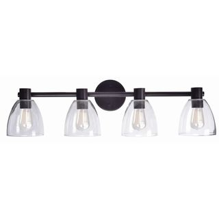 Design Craft Humble Blackened Oil Rubbed Bronze 4-light Vanity