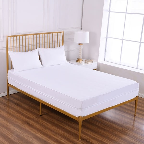 memory overstock product garden home shiloh queen mattress sleep innovations foam inch size