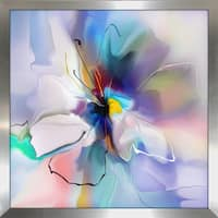 """Visions of Light"" Framed Plexiglass Wall Art"