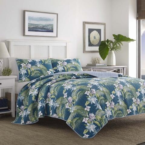 Tommy Bahama Southern Breeze Cotton Quilt Set