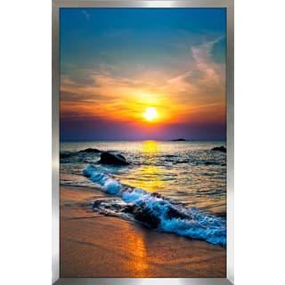 """""""Sunset Splendor 3"""" Framed Plexiglass Wall Art"""