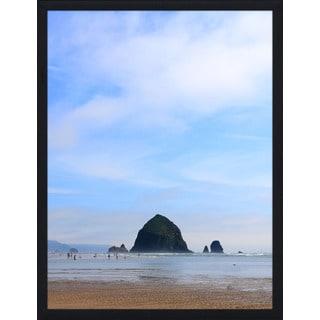 """Lifes a Beach IV"" Framed Plexiglass Wall Art"