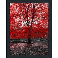 """""""Red Tree"""" Framed Plexiglass Wall Art"""