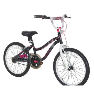 Monster High Girls' Black, White, and Pink Bike (20 in.)