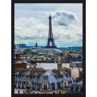 """Paris"" Framed Plexiglass Wall Art"