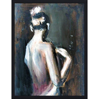 """Nude 1"" Framed Plexiglass Wall Art"