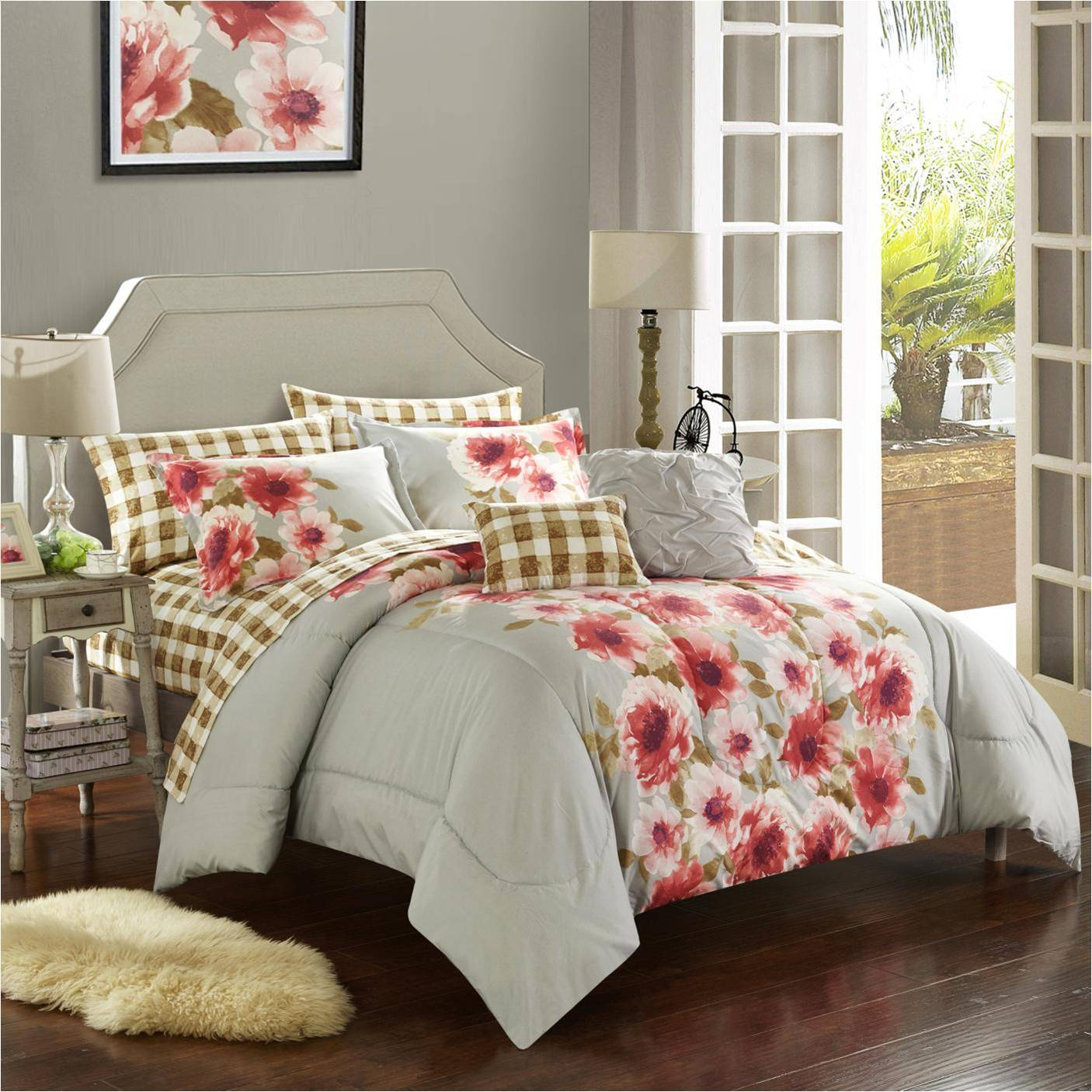 Casa Georgina Bed In A Bag On Sale Overstock 13393071 King