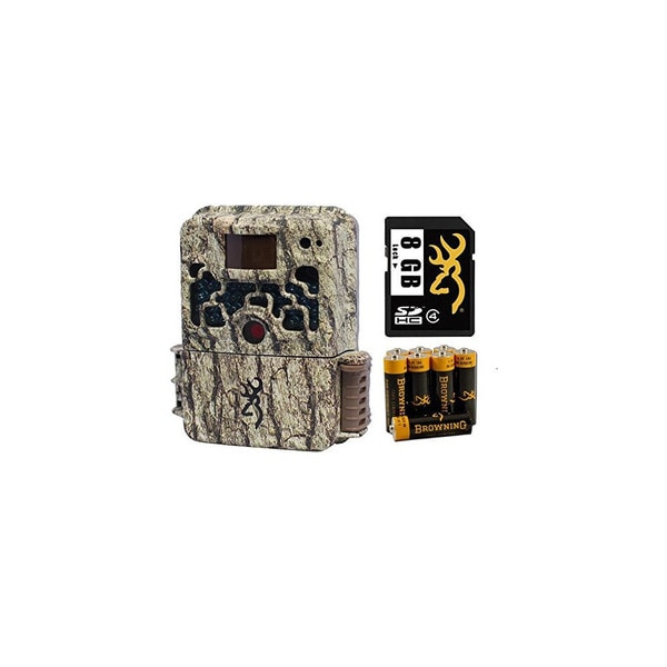 Browning BTC5 Strike Force HD 10MP Game Camera with 8GB SD Card and AA Batteries (2-Pack)