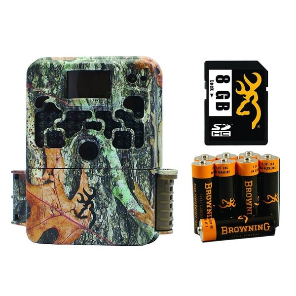Browning BTC5 STRIKE FORCE HD ELITE 10MP Game Camera with 8GB SD Card & AA Batteries