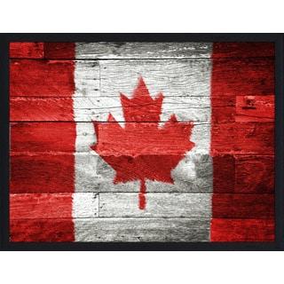 """Canada"" Framed Plexiglass Wall Art"